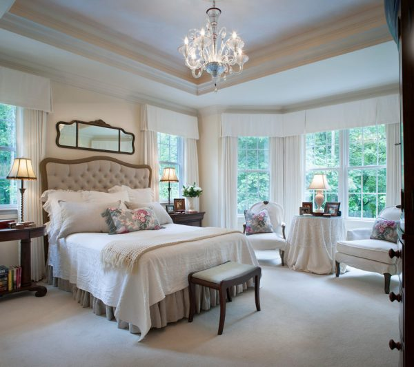 bedroom decorating ideas and designs Remodels Photos Kathryn Long, ASID Asheville North Carolina united states traditional-bedroom-001