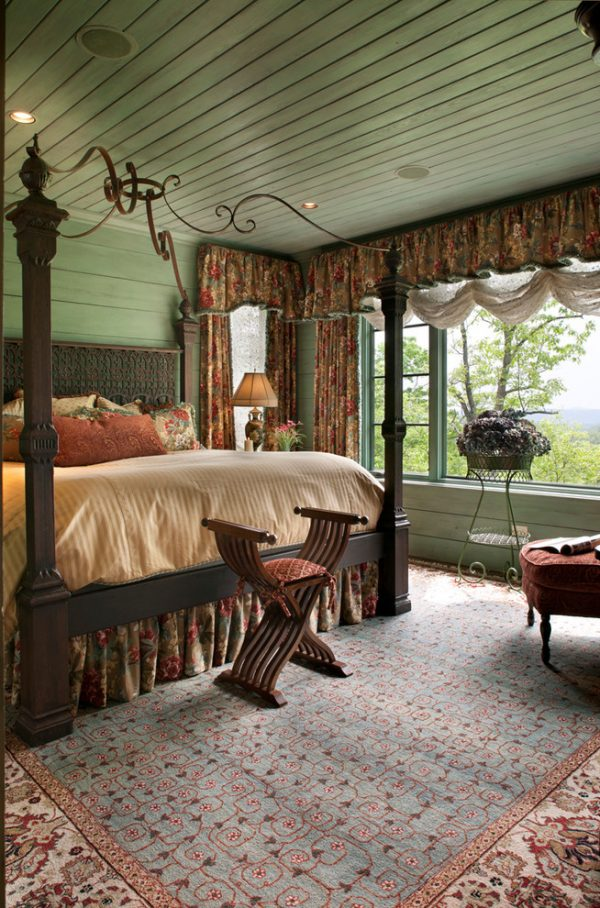 bedroom decorating ideas and designs Remodels Photos Kathryn Long, ASID Asheville North Carolina united states traditional-bedroom-006