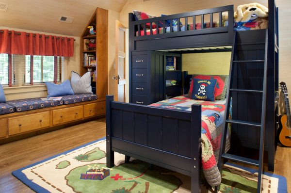 bedroom decorating ideas and designs Remodels Photos Kathryn Long, ASID Asheville North Carolina united states traditional-kids
