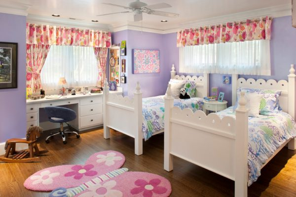 bedroom decorating ideas and designs Remodels Photos Kathryn Long, ASID Asheville North Carolina united states victorian-kids