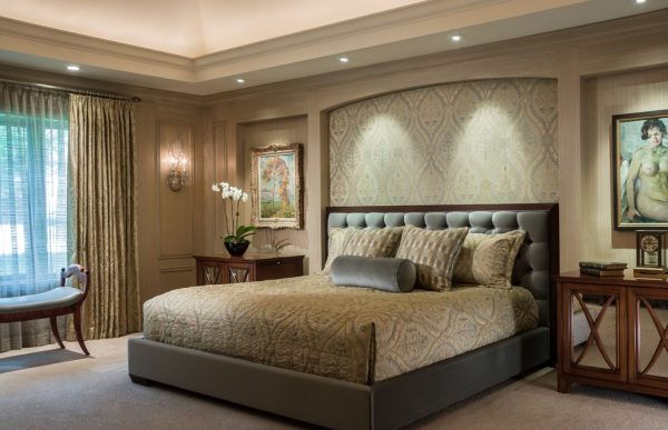 bedroom decorating ideas and designs Remodels Photos Kaufman Segal Design Chicago Illinois united states traditional-bedroom