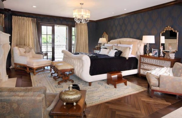 bedroom decorating ideas and designs Remodels Photos Kelly Ferm Inc. Claremont California united states home-design-001