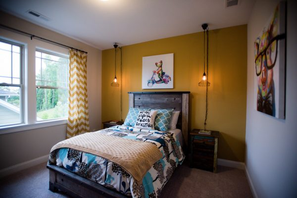 bedroom decorating ideas and designs Remodels Photos Kerri Robusto Interiors Fort Mill South Carolina United States eclectic-bedroom-001