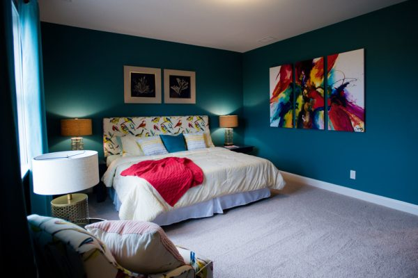 bedroom decorating ideas and designs Remodels Photos Kerri Robusto Interiors Fort Mill South Carolina United States eclectic-bedroom-002