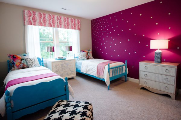 bedroom decorating ideas and designs Remodels Photos Kerri Robusto Interiors Fort Mill South Carolina United States eclectic-kids-002