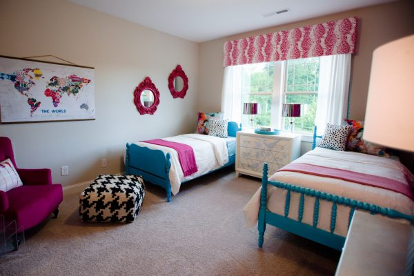 bedroom decorating ideas and designs Remodels Photos Kerri Robusto Interiors Fort Mill South Carolina United States eclectic-kids