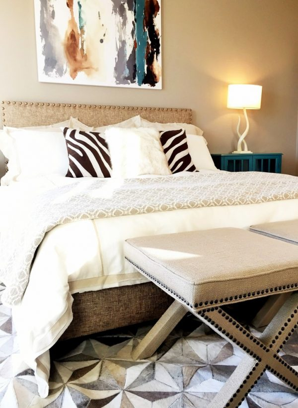 bedroom decorating ideas and designs Remodels Photos Kerrie L. Kelly Sacramento California United States eclectic-001