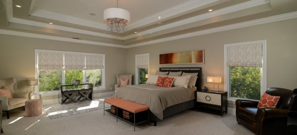 bedroom decorating ideas and designs Remodels Photos Kerrie L. Kelly Sacramento California United States modern-bedroom