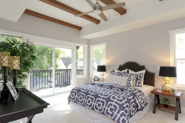 bedroom decorating ideas and designs Remodels Photos Kerrie L. Kelly Sacramento California United States transitional-bedroom-002
