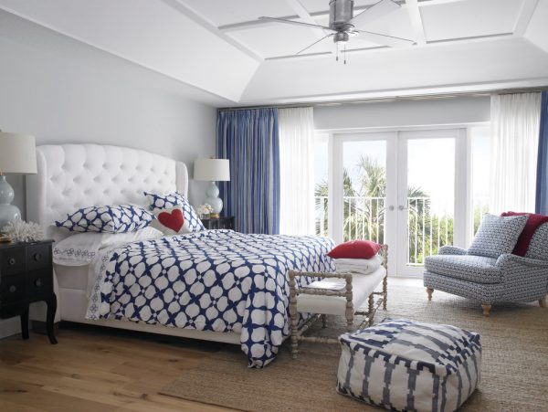 bedroom decorating ideas and designs Remodels Photos Krista Watterworth Design Studio Palm Beach Gardens Florida united states transitional-bedroom-002