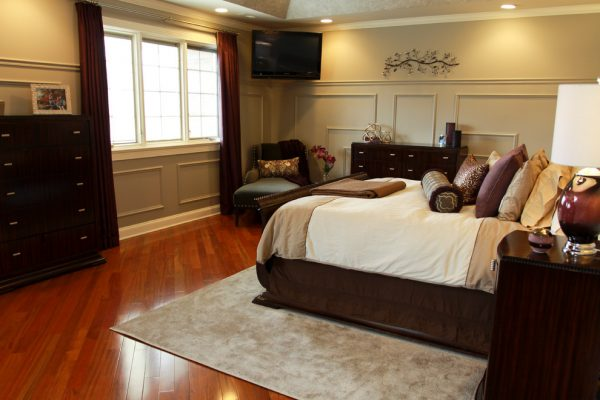bedroom decorating ideas and designs Remodels Photos Kristin Petro Interiors, Inc. Elmhurst Illinois United States transitional-bedroom-002