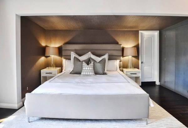 bedroom decorating ideas and designs Remodels Photos L2 Interiors Culver City California United States contemporary-bedroom-002