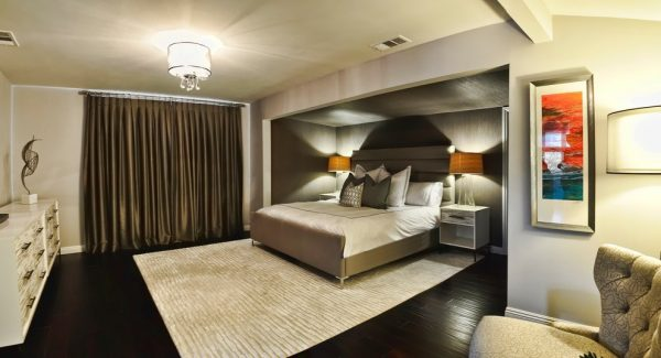 bedroom decorating ideas and designs Remodels Photos L2 Interiors Culver City California United States contemporary-bedroom-008