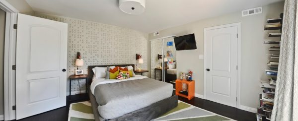 bedroom decorating ideas and designs Remodels Photos L2 Interiors Culver City California United States contemporary-kids