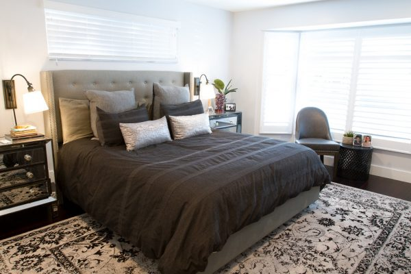 bedroom decorating ideas and designs Remodels Photos L2 Interiors Culver City California United States shabby-chic-style-bedroom