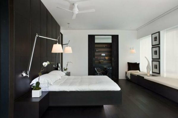 bedroom decorating ideas and designs Remodels Photos LBC Lighting  Arcadia California United States modern-bedroom-002