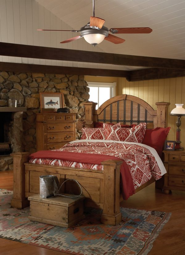 bedroom decorating ideas and designs Remodels Photos LBC Lighting  Arcadia California United States rustic-bedroom
