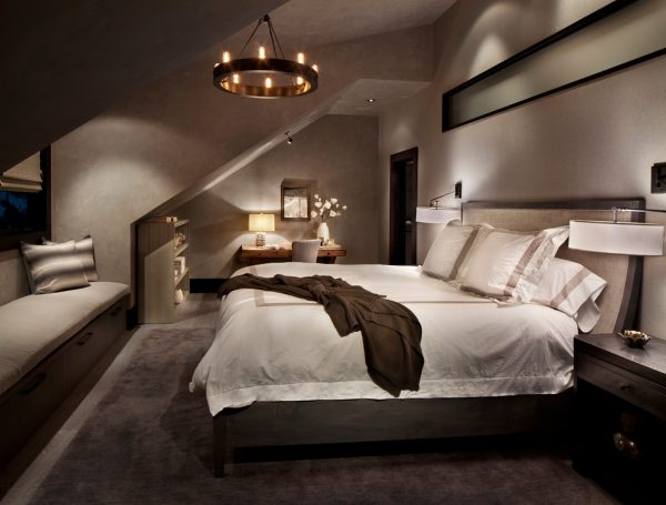 bedroom decorating ideas and designs Remodels Photos LKID Brooklyn borough United States contemporary-bedroom-001