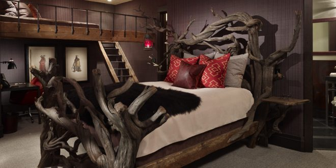 bedroom decorating ideas and designs Remodels Photos LKID Brooklyn borough United States rustic-bedroom