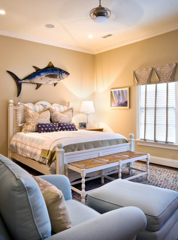 bedroom decorating ideas and designs Remodels Photos LORRAINE G VALE, Allied ASID Charleston South Carolina united states beach-style-bedroom