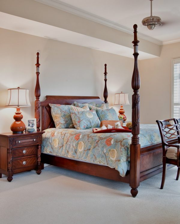 bedroom decorating ideas and designs Remodels Photos LORRAINE G VALE, Allied ASID Charleston South Carolina united states traditional-bedroom-001