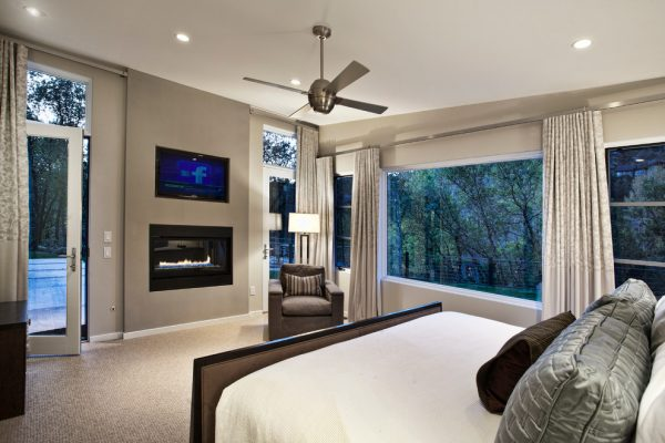 bedroom decorating ideas and designs Remodels Photos Lanthia Hogg Designs Carbondale Colorado United States contemporary-bedroom-001