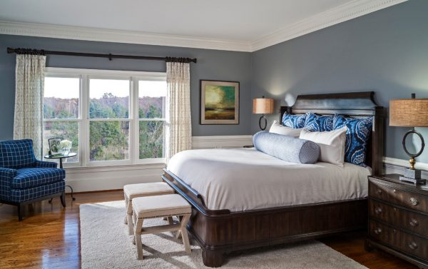 bedroom decorating ideas and designs Remodels Photos Lauren Nicole Designs Charlotte North Carolina United States traditional-bedroom-003