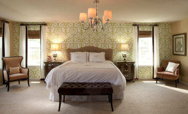 bedroom decorating ideas and designs Remodels Photos Lauren Nicole Designs Charlotte North Carolina United States traditional-bedroom-009