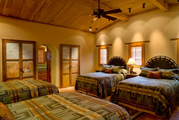 bedroom decorating ideas and designs Remodels Photos Leedy Interiors Tinton Falls New Jersey united states southwestern-bedroom