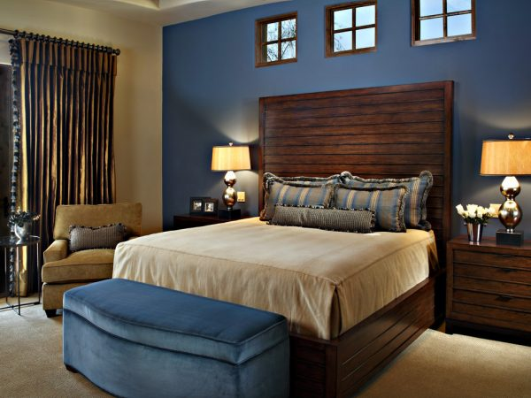 bedroom decorating ideas and designs Remodels Photos Linda Seeger Interior Design Scottsdale Arizona united states contemporary-bedroom-004