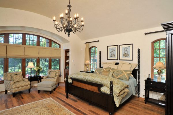 bedroom decorating ideas and designs Remodels Photos Lisa Davenport Designs Durham Connecticut United States eclectic-bedroom