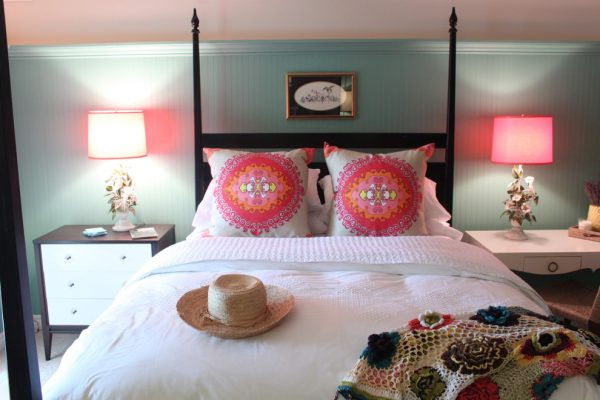 bedroom decorating ideas and designs Remodels Photos Lisa Wolfe Design, Ltd Lake Forest Illinois United States beach-style-bedroom