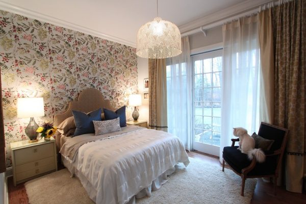 bedroom decorating ideas and designs Remodels Photos Lisa Wolfe Design, Ltd Lake Forest Illinois United States eclectic-001