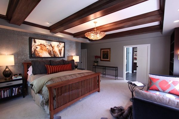 bedroom decorating ideas and designs Remodels Photos Lisa Wolfe Design, Ltd Lake Forest Illinois United States eclectic-002