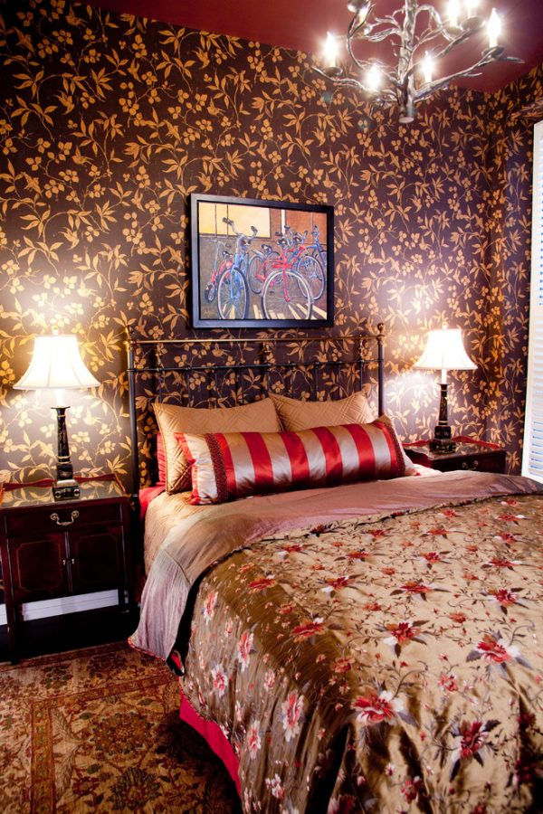 bedroom decorating ideas and designs Remodels Photos Lisa Wolfe Design, Ltd Lake Forest Illinois United States eclectic-bedroom