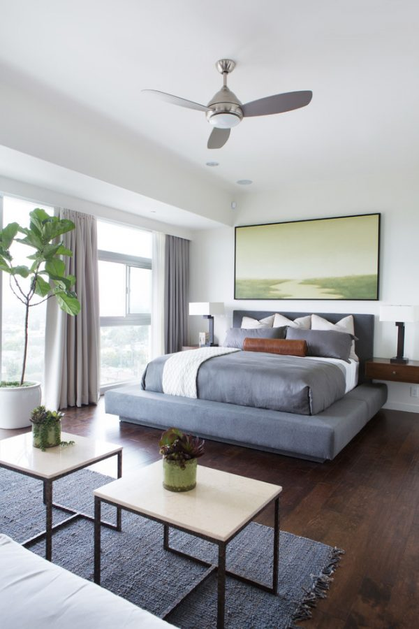bedroom decorating ideas and designs Remodels Photos Lori Dennis, ASID, LEED AP Los Angeles California United States contemporary-bedroom-006