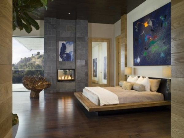 bedroom decorating ideas and designs Remodels Photos Lori Dennis, ASID, LEED AP Los Angeles California United States contemporary-bedroom-012