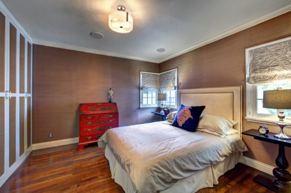 bedroom decorating ideas and designs Remodels Photos Lori Dennis, ASID, LEED AP Los Angeles California United States transitional-bedroom-002