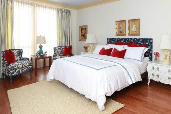 bedroom decorating ideas and designs Remodels Photos Lori Dennis, ASID, LEED AP Los Angeles California United States transitional-bedroom