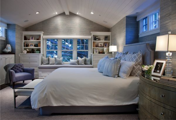 bedroom decorating ideas and designs Remodels Photos Lori Gentile Interior Design Solana Beach California United States traditional-bedroom-001