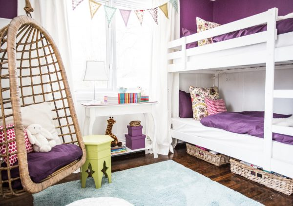 bedroom decorating ideas and designs Remodels Photos Lux Décor Lux Décor Québec Canada traditional-kids-004