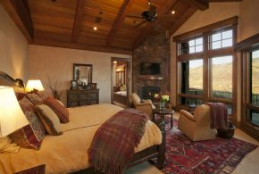 Bedroom Decorating and Designs by Lynne Barton Bier - Home on the Range Interiors - Steamboat Springs, Colorado, United States