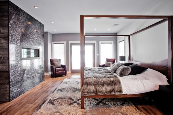 bedroom decorating ideas and designs Remodels Photos Madison Taylor Barrie Ontario, Canada transitional-bedroom-001