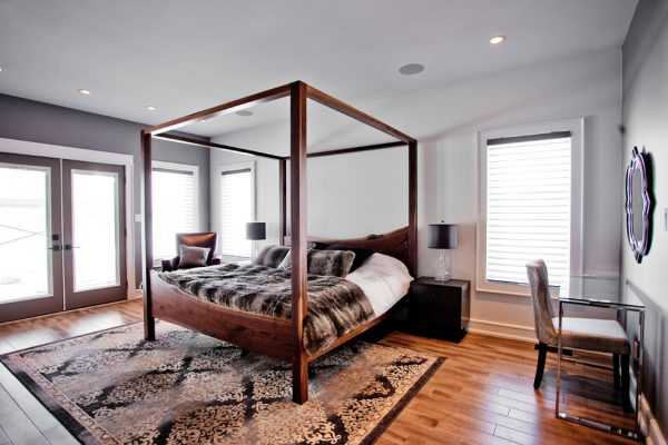 bedroom decorating ideas and designs Remodels Photos Madison Taylor Barrie Ontario, Canada transitional-bedroom-002