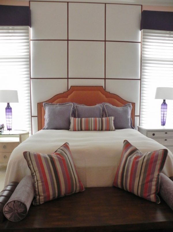 bedroom decorating ideas and designs Remodels Photos Malibu West Interiors Naples Florida united states contemporary-bedroom