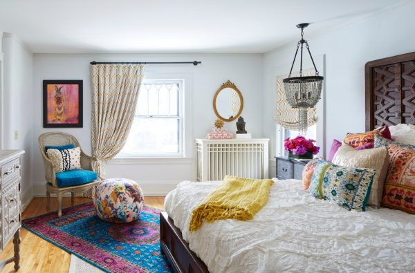 bedroom decorating ideas and designs Remodels Photos Martha O'Hara Interiors Minneapolis Minnesota United States eclectic-bedroom