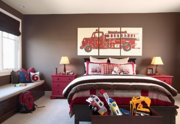 bedroom decorating ideas and designs Remodels Photos Martha O'Hara Interiors Minneapolis Minnesota United States transitional-kids-003