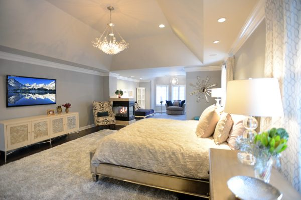 bedroom decorating ideas and designs Remodels Photos Mel McDaniel Design Philadelphia Pennsylvania united states contemporary-bedroom