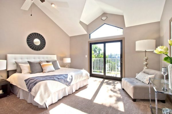 bedroom decorating ideas and designs Remodels Photos Modiano Design Woodland Hills California United States craftsman-bedroom