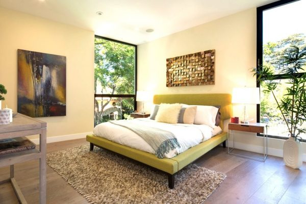 bedroom decorating ideas and designs Remodels Photos Modiano Design Woodland Hills California United States modern-bedroom